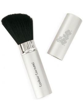 Pinceau No 3 rétractable poudre fard à joues Couleur Caramel accessoire de maquillage bio Abcbeauté