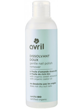 Dissolvant doux 200 ml Avril Beauté ongles maquillage bio Abcbeauté