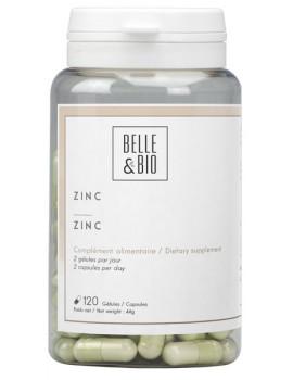 Zinc oligo-élément 120 gélules Belle et bio,  Oligo Eléments Mineraux,  abcBeauté