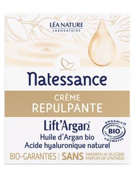 Crème Repulpante Anti rides Lift'Argan 50 ml Natessance anti-âge Abcbeauté