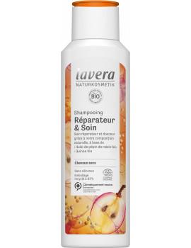 Shampooing réparateur et soin 250ml Lavera