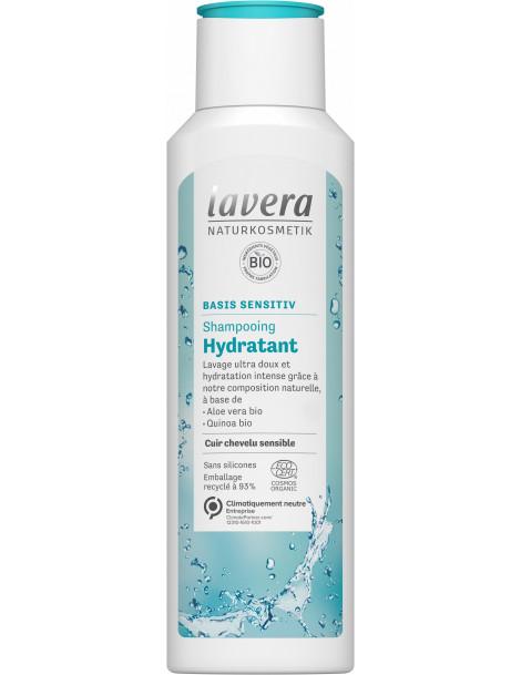 Shampoing Basis Sensitiv Hydratant 250ml Lavera, shampooing bio abcbeauté