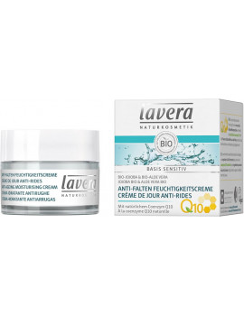Crème de Jour Anti-rides Q10 Basis sensitiv Lavera ubiquinone anti-âge Abcbeauté