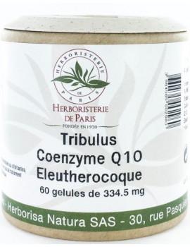 Tribulus Coenzyme Q10 Eleuthérocoque 60 Gélules Herboristerie de paris