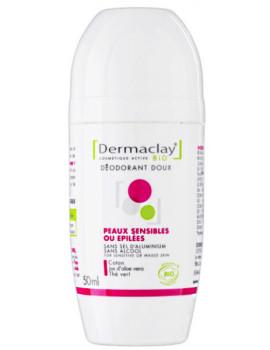 Déodorant Peaux sensibles ou épilées 50 ml Dermaclay Zinc PCA jus d'aloe vera Abcbeauté