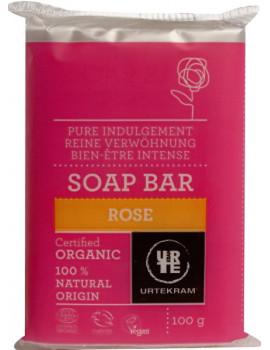 Savon à la Rose 100 gr Urtekram