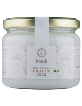 Huile de Coco Extra Vierge  250 gr Khadi