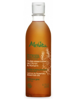 Shampooing doux purifiant 200 ml Melvita romarin, citron, myrte Abcbeauté