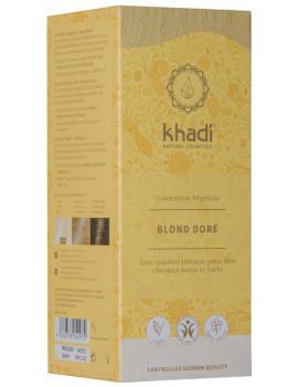 Coloration végétale Blond Doré 100 gr Khadi reflets dorés Abcbeauté