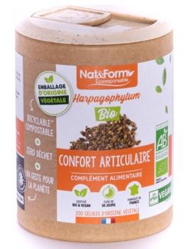 Harpagophytum Bio 200 gélules Nat et Form,  griffe du diable Articulations,  Compléments Alimentaires,  abcBeauté