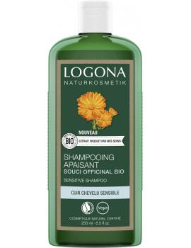 Shampooing Apaisant à l'acacia bio 250 ml Logona cheveux secs, cuir chevelu irrité Abcbeauté