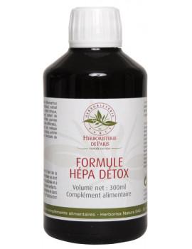 Hépa Detox Formule 300 ml Herboristerie de Paris draineur detox hépatique Abcbeauté