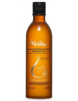 Shampoing expert réparation 200 ml Melvita shampooing bio arginine Abcbeauté