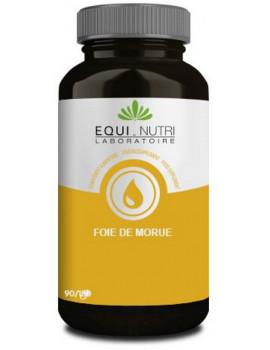 Huile de Foie de Morue Equi-Nutri - 60 gélules abcbeauté vitamines A et D