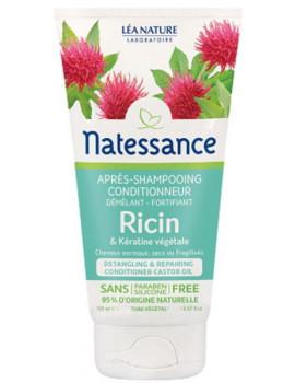 Après Shampoing conditionneur démêlant fortifiant Ricin Kératine Végétale 150 ml Natessance Abcbeauté
