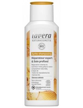 Après Shampoing Réparateur Expert et Soin profond 200 ml Lavera cheveux abîmés et dévitalisés Abcbeauté