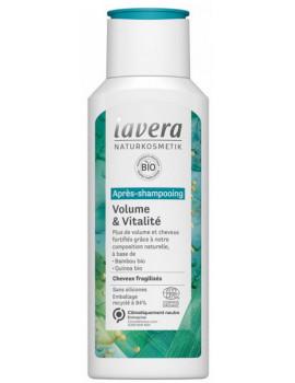 Après Shampoing Volume et Vitalité 200 ml Lavera cheveux fins et fragiles Abcbeauté