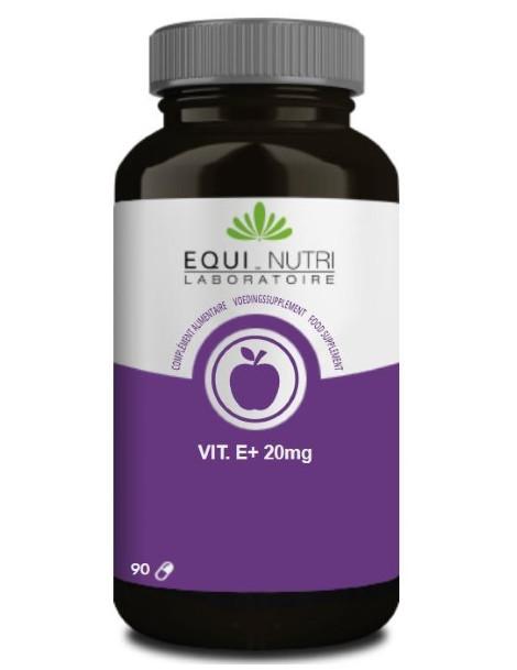 Vitamine E Naturelle Alpha Tocopherol 90 gelules Equi - Nutri antioxydant Abcbeauté