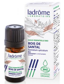 Huile essentielle bio de Bois de Santal 5 ml Ladrôme aromathérapie Abcbeauté