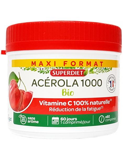 Spiruline Bio 200 comprimés de 500mg Nat et Form,  Spiruline,  Actifs Nutritionnels,  abcBeauté