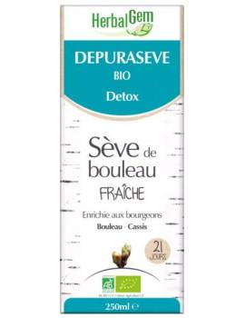 Depurasève Bio  Sève de bouleau 250ml Herbalgem