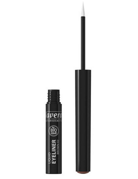 Eye liner liquide Marron 02 3.5 ml Lavera maquillage bio des yeux Abcbeauté