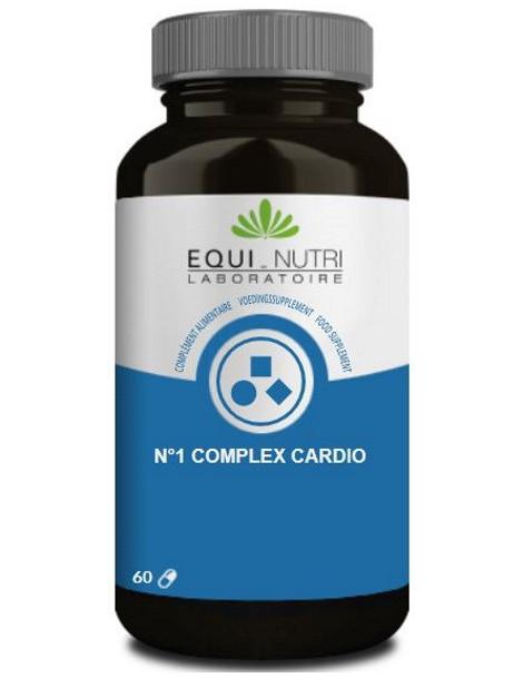 No 1 Complex Cardio 60 gélules végétales Equi - Nutri Abcbeauté