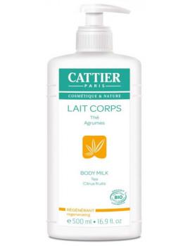 lait corporel bio Lait Hydratant Régénérant Pamplemousse Citron 500 ml Cattier Abcbeauté