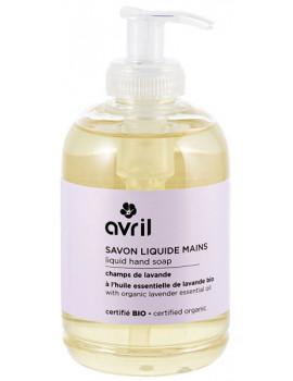 Savon liquide Mains Champs de lavande 300 ml Avril Beauté lavande vraie Abcbeauté