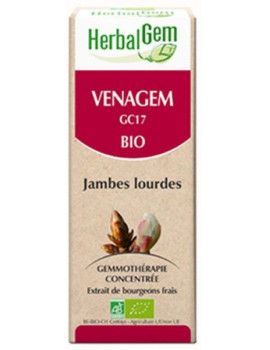 Venagem Bio 50ml Jambes légères Herbalgem circulation abcbeauté