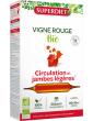 Super Diet Vigne rouge bio 20 ampoules de 15 ml anthocyanes Abcbeauté