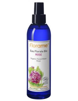 Eau florale de Rose bio brumisateur 200 ml Florame