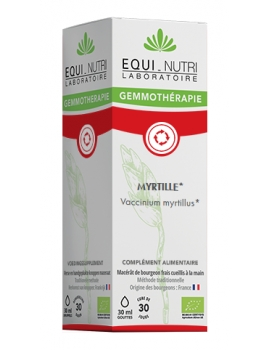 Myrtille bio 30ml Equi - Nutri