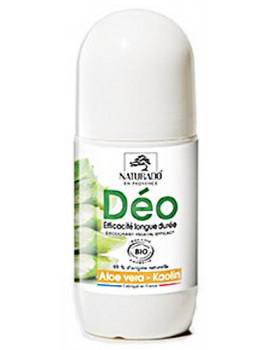 Déodorant longue durée Aloe vera Kaolin 50 ml Naturado déo roll on Abcbeauté