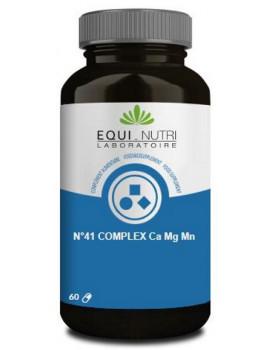n°41 complex Ca Mg Mn 60 gélules Equi - Nutri manganèse calcium magnésium Abcbeaute