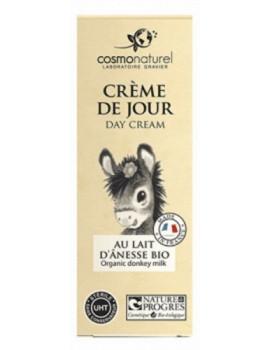 Crème de jour bio au lait d'ânesse 50ml Cosmo Naturel