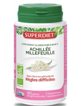 Achillée Millefeuille bio Super Diet - 90 gélules problèmes règles difficiles Abcbeauté