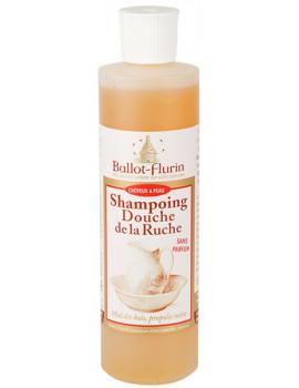 Shampoing douche de la ruche Assainissant Propolis 500 ml Ballot Flurin shampooing bio Abcbeauté