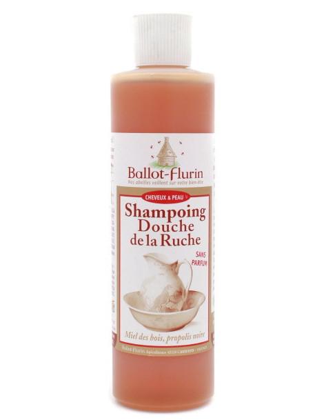 Shampoing Douche de la Ruche Propolis 250 ml Ballot Flurin shampooing douche bio Abcbeauté