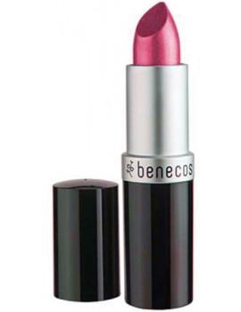 Rouge à lèvres Rose Hot Pink 4.5gr Benecos maquillage bio Abcbeauté