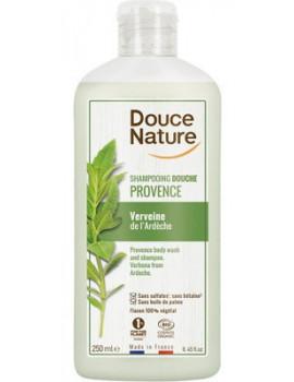 Douche et Bain verveine bio de Provence 500 ml Douce Nature - produit d'hygiène bio cosmebio