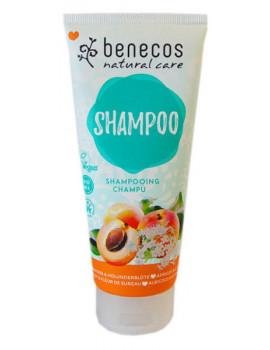 Shampooing Abricot et Fleur de Sureau 200ml Benecos shampoing bio Abcbeauté