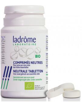 Comprimés neutres bio pour huiles essentielles x30 Ladrôme