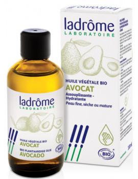 Huile végétale d'Avocat bio 100 ml Ladrôme hydratation et nutrition Abcbeauté