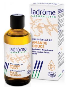 Huile Amande douce bio 100 ml Ladrôme première pression à froid Abcbeauté