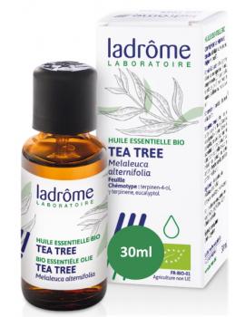 Huile essentielle bio Tea Tree 30 ml Ladrôme défenses naturelles Abcbeauté