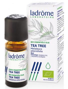 Huile essentielle de Tea Tree Bio 10 ml Ladrome - produit de soin aromathérapie Abcbeauté