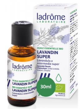 Huile essentielle bio Lavandin x super 30 ml Ladrôme Abcbeauté