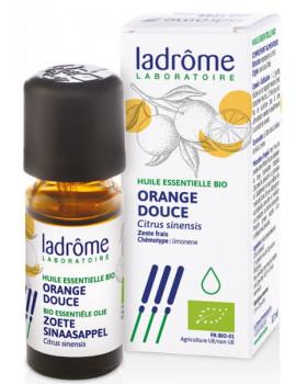 Huile essentielle bio Orange douce 10 ml Ladrôme digestion tonus Abcbeauté