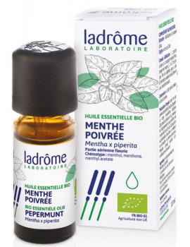 Huile essentielle bio Menthe poivrée 10 ml Ladrôme pureté et digestion Abcbeauté